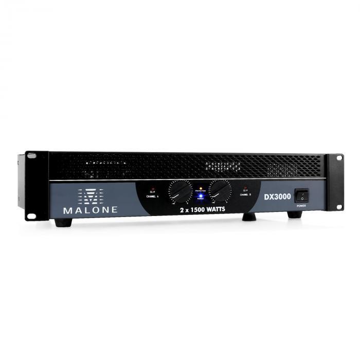 DX3000 amplificatore 3000W ponticellabile