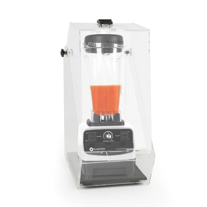 Herakles 3G Standmixer Weiß mit Cover 1500W 2,0 PS 2 Liter BPA-frei