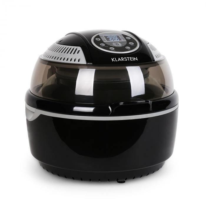 VitAir Heißluftfritteuse schwarz 1400W Grillen ...