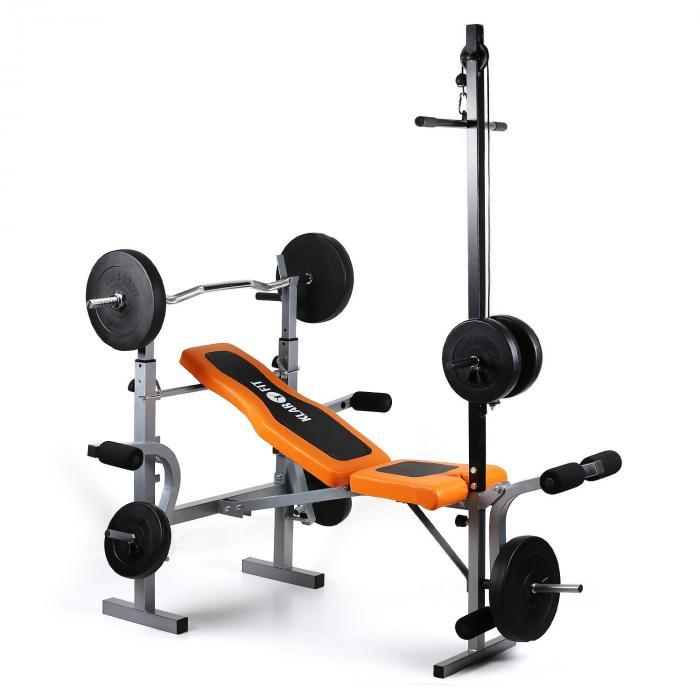 KLARFIT Ławka treningowa Ultimate Gym 3500