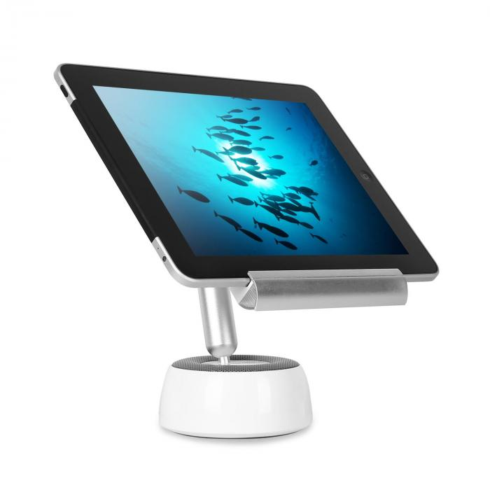 OneConcept Shinepad lampka Bluetooth głośnik uchwyt tablet