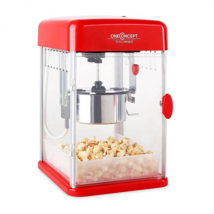 OneConcept Rockkorn Maszyna do popcornu350W mieszadło