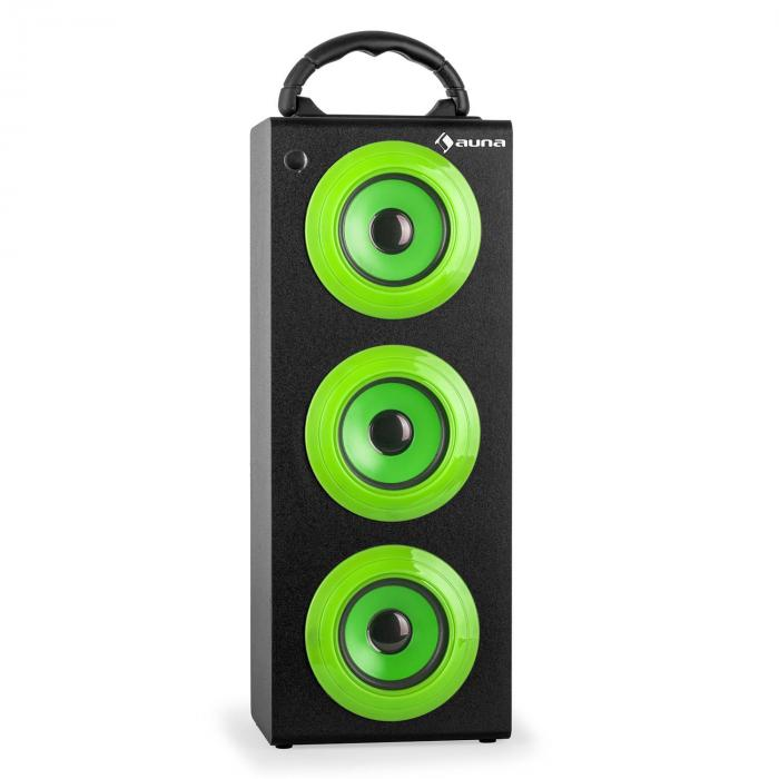 XXL Bluetooth Speaker Green USB SD AUX FM