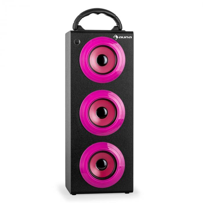 Beachgirl XXL Altavoz Bluetooth Rosa USB SD AUX