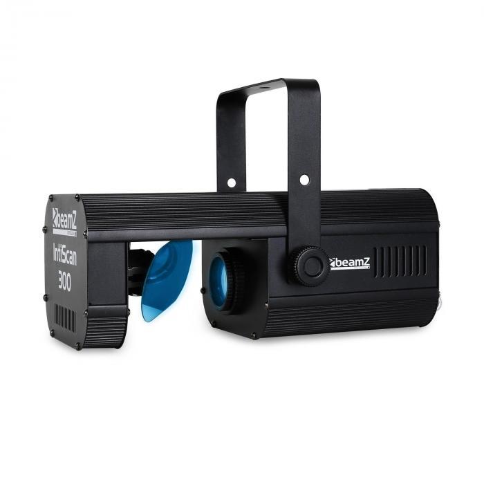 Skaner LED Beamz IntiScan300 DMX Efekty Gobo