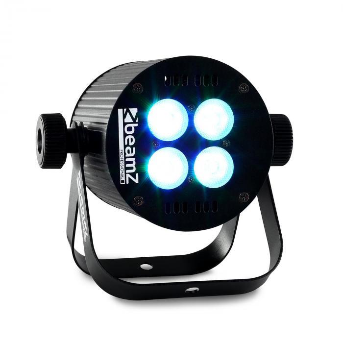 LED PAR valoefekti 4 x 8W RGB-LED DMX