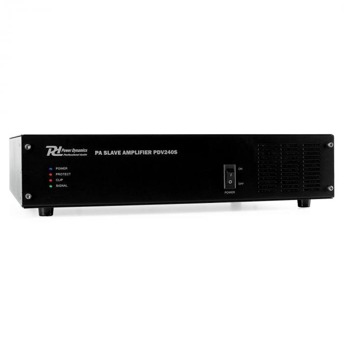 Power Dynamics PDV240S wzmacniacz PA Boost 240W
