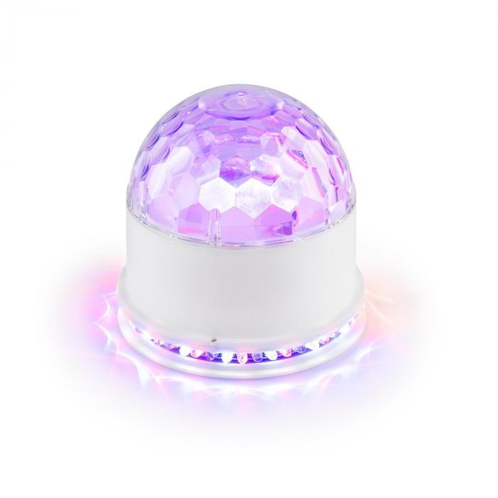 UFO-ASTRO-WH LED-valoefekti RGB valkoinen