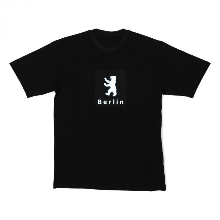 LED-shirt Berlin maat M
