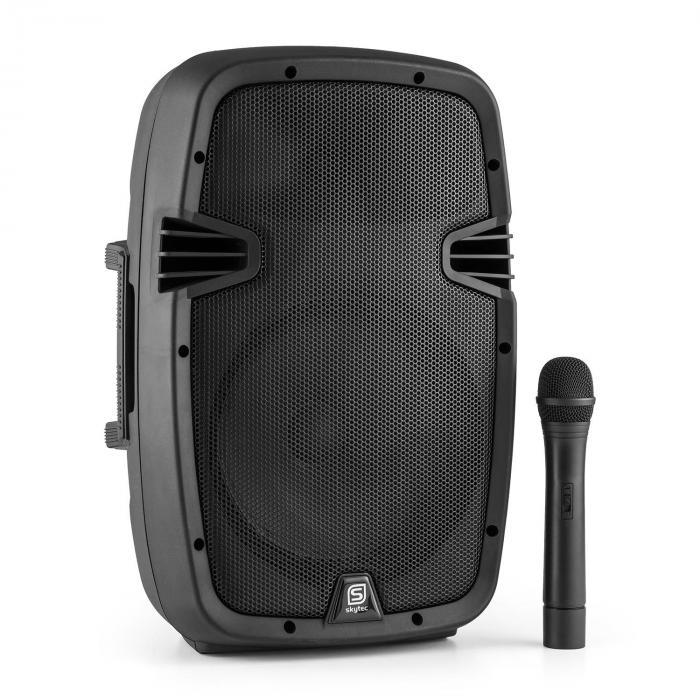 SPJ-PA910 aktiv PA-högtalare uppladdningsbart batteri bluetooth USB SD MP3  VHF 400W eef7ebda9dc09