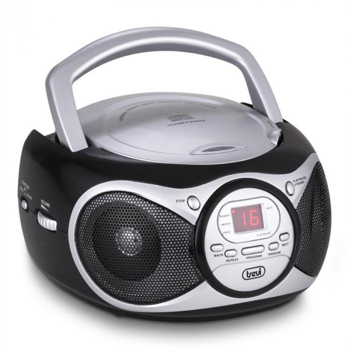 CD 512 CD-Player MP3 AM/FM-Radio AUX schwarz