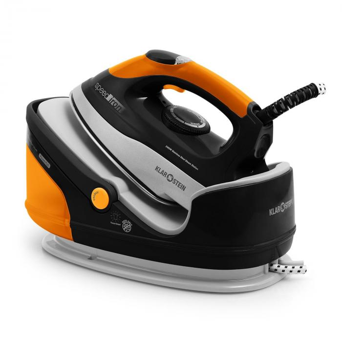 Speed Iron Dampfbügeleisen 2400 Watt 1,7 Liter orange