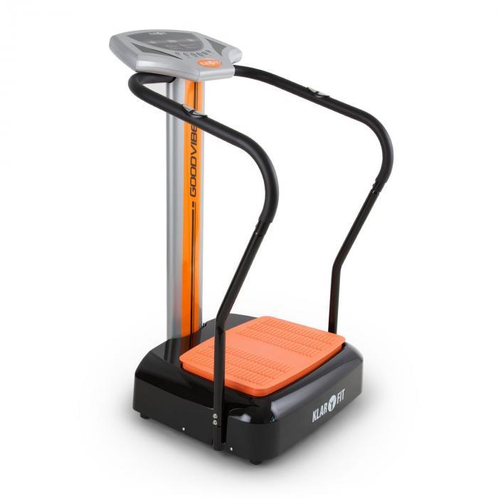 KLARFIT Goddvibe trenażer wibracyjny komputer treningowy miernik tętna kółka podłogowe