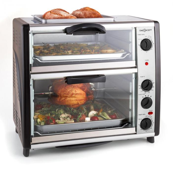 All You Can Eat Double Oven With Grill 42 Litre Total At The Best