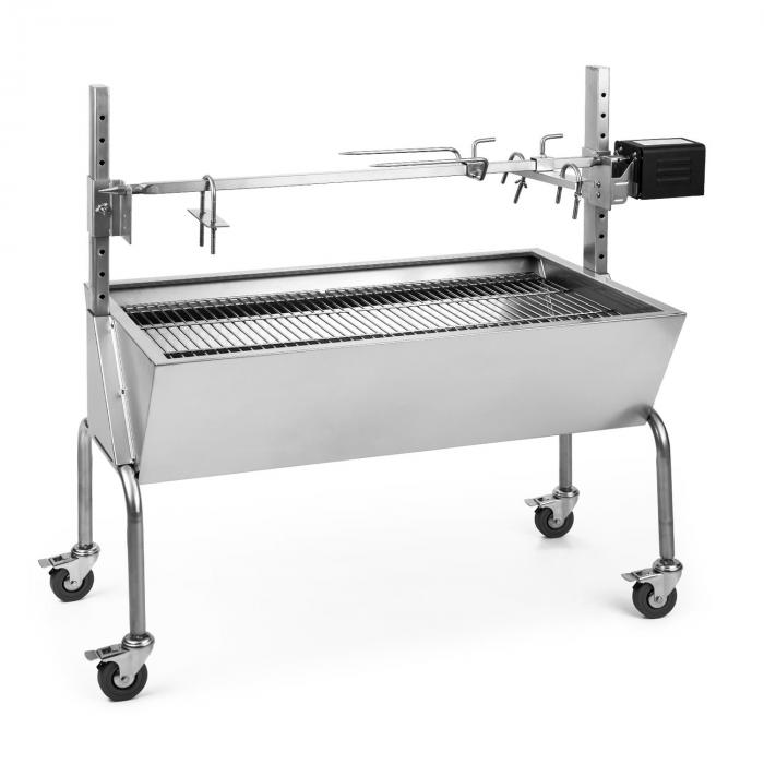 Sauenland Suckling Pig BBQ Grill with Electric Rotisserie Motor