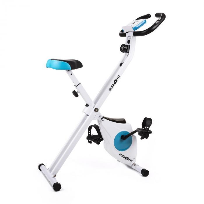 KLARFIT Azura domowy rower treningowy, składany, z miernikiem pulsu 100kg