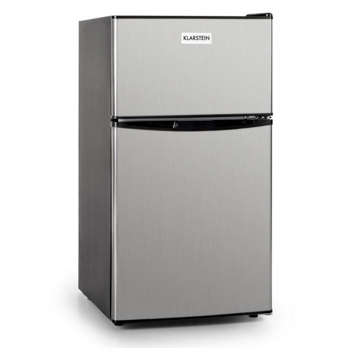 Big Daddy Cool Fridge 80 Liters Class A+ Stainless Steel Black