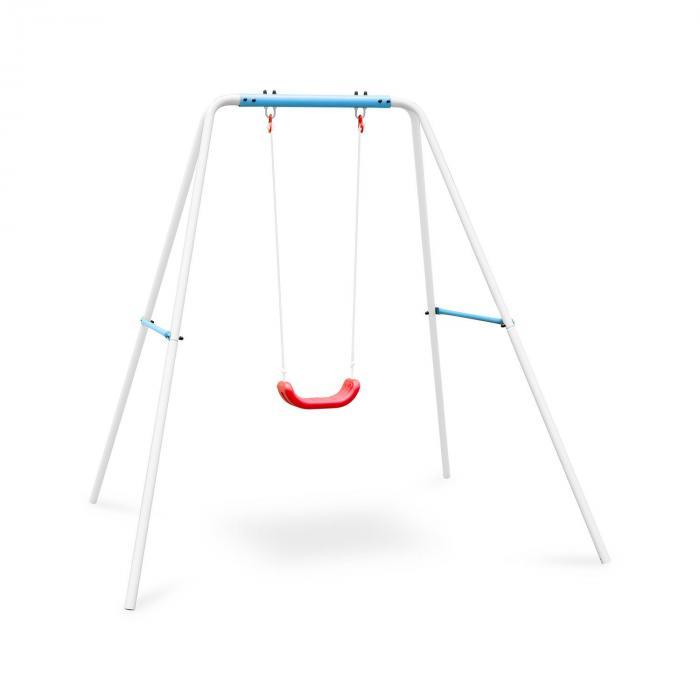 OneConcept Miri Kinderschaukel Schaukelgestell Gartenschaukel Kinder blau