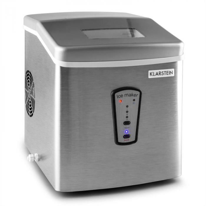Klastein PowerIcer Macchina del ghiaccio 180W 15Kg/gg Alluminio