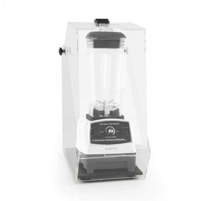 Herakles 2G pystymikseri valkoinen kannen kanssa 1200W 1,6 PS 2 litraa BPA-vapaa