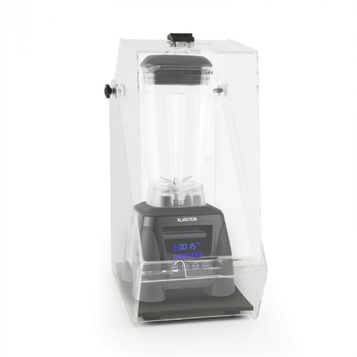 Herakles 8G pystymikseri musta kannen kanssa 1800W 2,4 PS 2 litraa BPA-vapaa