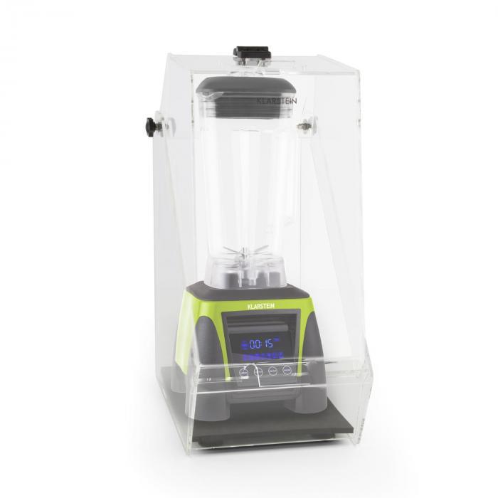 Herakles 8G Batidora Vaso verde con cover 1800W 2,4 PS 2 litros libre de BPA