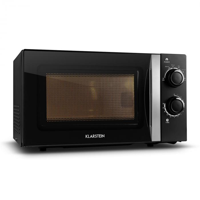 myWave Forno a Microonde 20L 700W Timer Nero