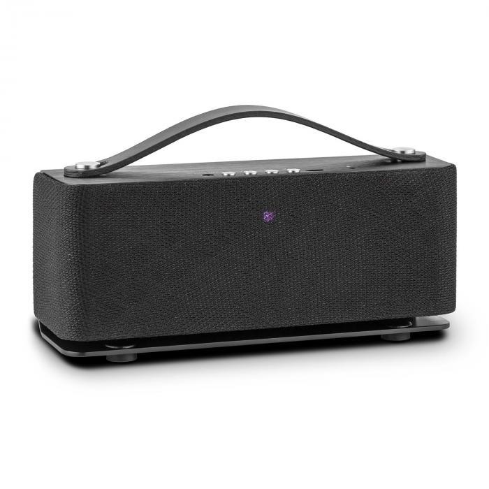 Sound Steel Bluetooth-kaiutin harjattua alumiinia, musta
