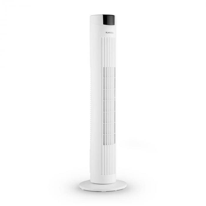 Skyscraper 2G Ventilatore A Colonna 40W Aroma Telecomando Bianco