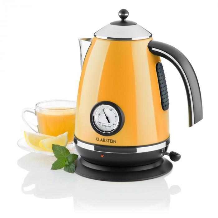 Klarstein Quavita Chalet czajnik elektryczny pomarańczowy 1,7 l 2200W