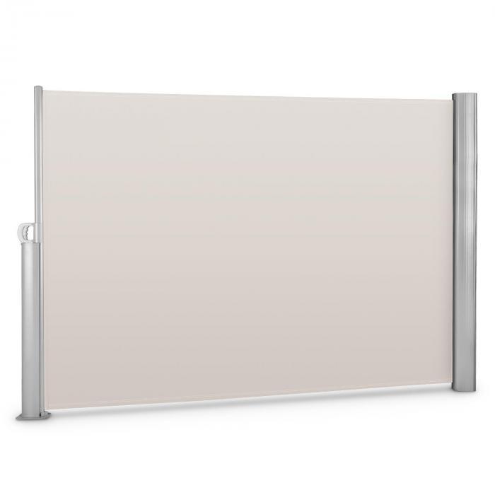 Bari 320 sivumarkiisi 300x200cm alumiini kerma/hiekka