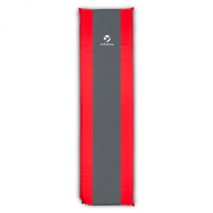 Goodrest 5 Materassino Autogonfiabile 5cm Spessore Rosso-Grigio