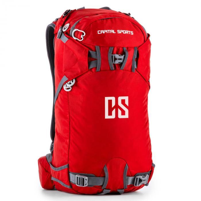 Capital Sports CS 30 Red plecak sport rekreacja 30l wodoodporny nylon czewony