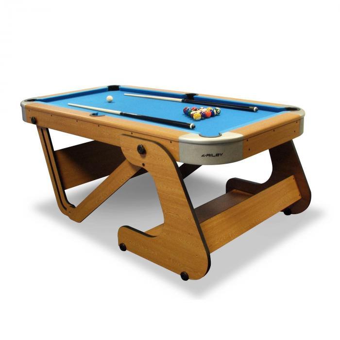 "RPT-6F Supersize 6'6"" Table de billard pliable"
