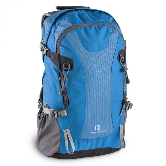 Capital Sports CS 38 Plecak sportowy i turystyczny 38 litrów wodoodporny nylon niebieski