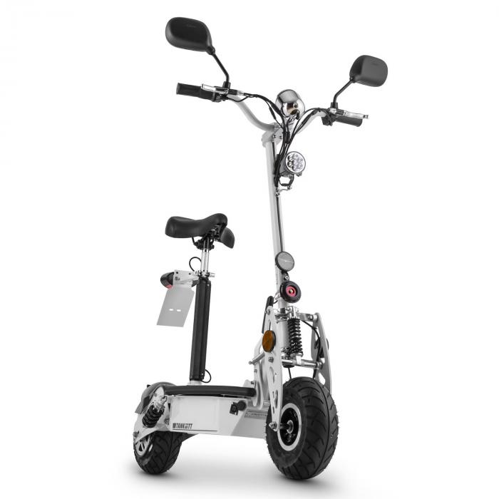 elektronik star de tank type 500tt elektro scooter 36v 500w 20 km h 25 km stvzo schwarz. Black Bedroom Furniture Sets. Home Design Ideas