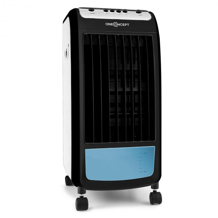 caribbean blue rafraichisseur d 39 air ventilateur 70w blanc. Black Bedroom Furniture Sets. Home Design Ideas