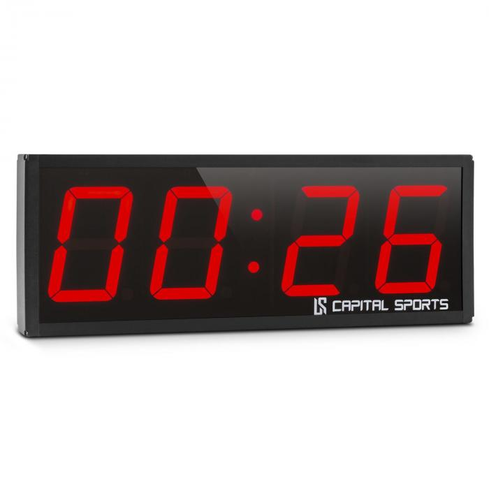 Timer Shot Timer Tabata Stopwatch Cross-Training 4 Digital Signal