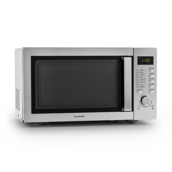Steelwave Microwave 23L 800W / 1000W Grill Stainless Steel