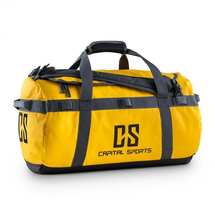 Capital Sports Travel S Torba sportowa 45l Plecak wodoodporny żółty