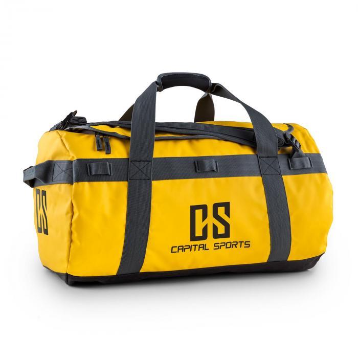 Capital Sports Travel M Torba sportowa 60l Plecak wodoodporny żółty