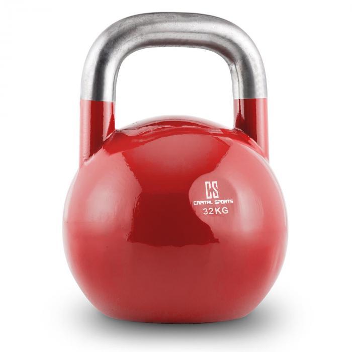 Compket 32 Competition Kettlebell Kugelhantel Stahl 32kg Rot