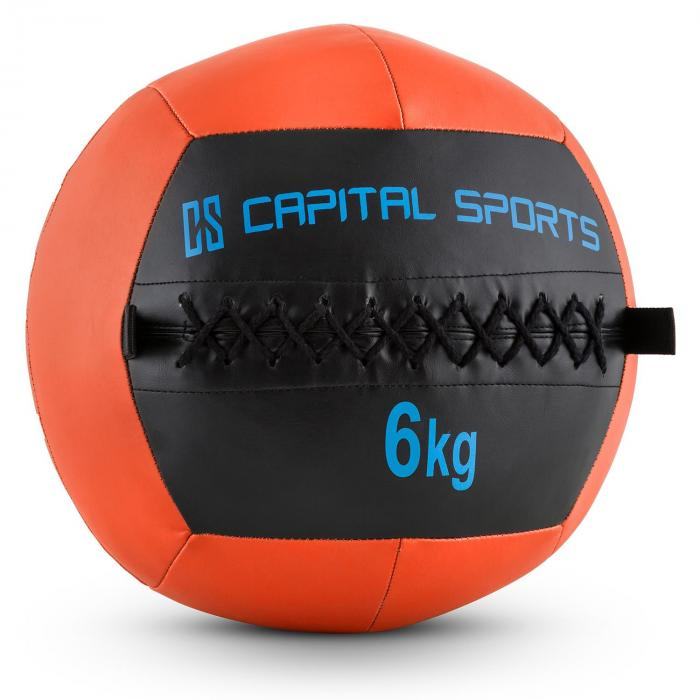 Epitomer Wall Ball 6kg Kunstleder orange