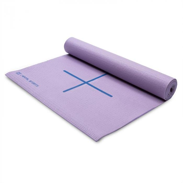 Yosalo Yogamatte Gymnastikmatte Lila inkl. Umhängetasche