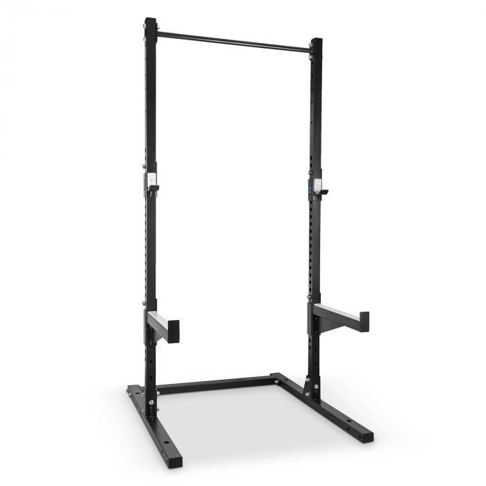 Rackster Half Rack 250 kg Single Bar jauhemaalattua terästä