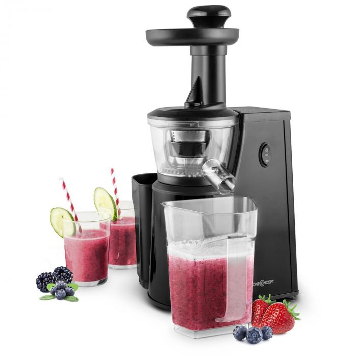 Jimmie Andrews SlowJuicer Estrattore di Succhi 400W Nero