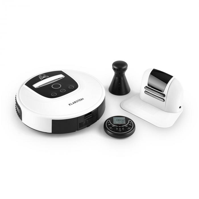 Klarstein Cleanhero Robot odkurzający Odkurzacz automatyczny Zdalna obsługa biały