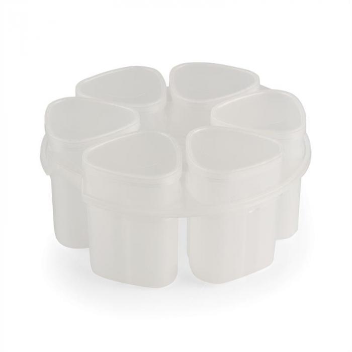 Jogurtinvalmistusosa Hotpot monitoimikeittimeen 6 astiaa á 150 ml