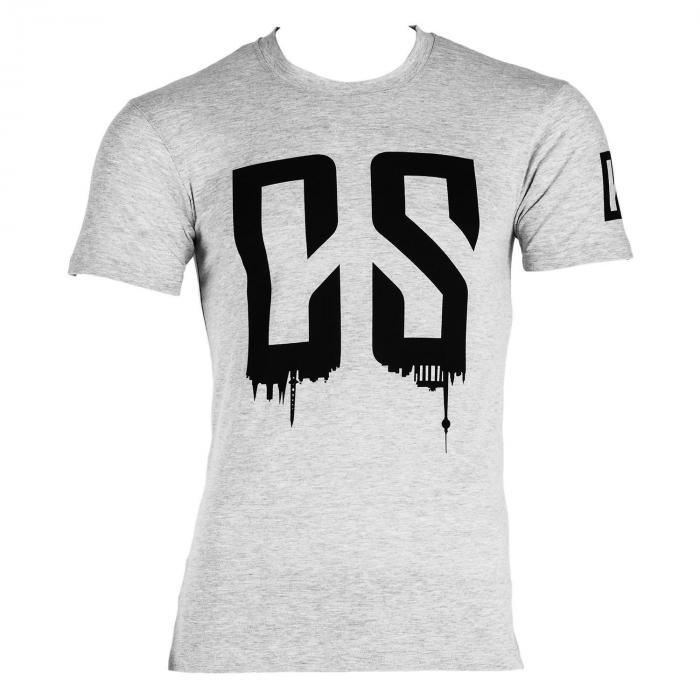 Beforce Training T-Shirt per Uomo Size XL Grigio Melange