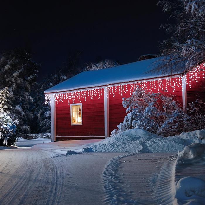 Dreamhouse Luci Natalizie 16m 320 LED Snow Motion